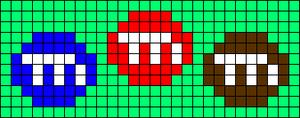 Alpha pattern #41650