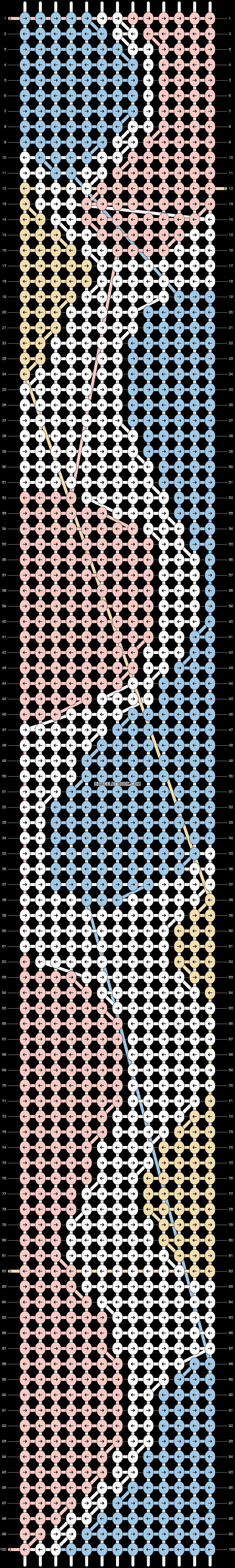 Alpha pattern #41683 pattern