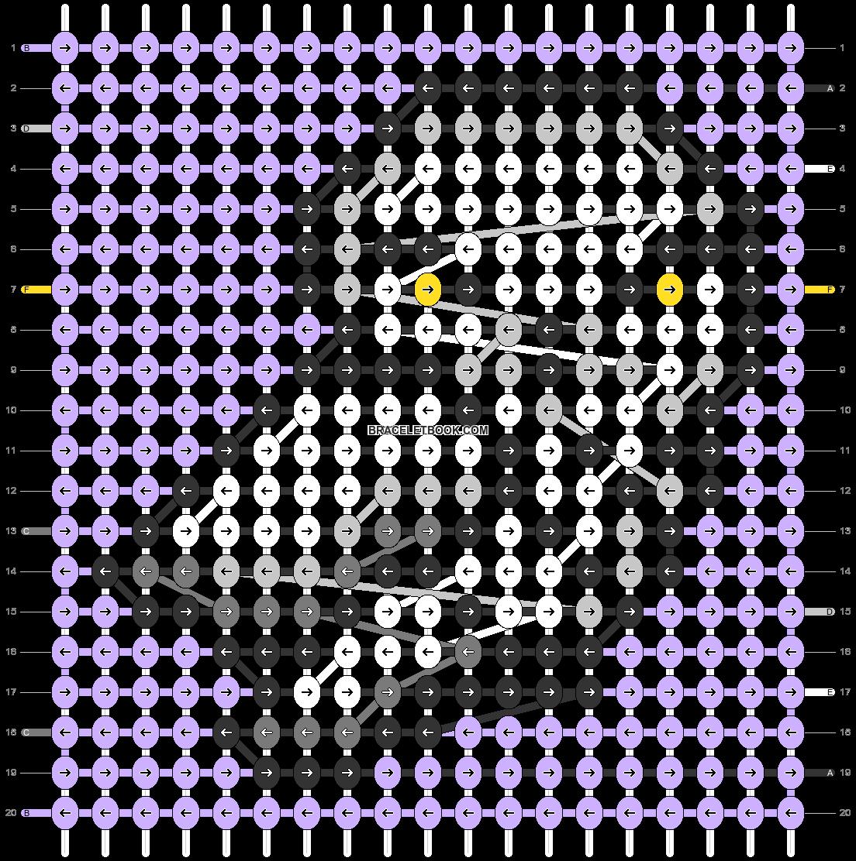 Alpha pattern #41706 pattern
