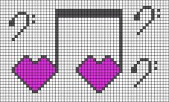 Alpha pattern #41711