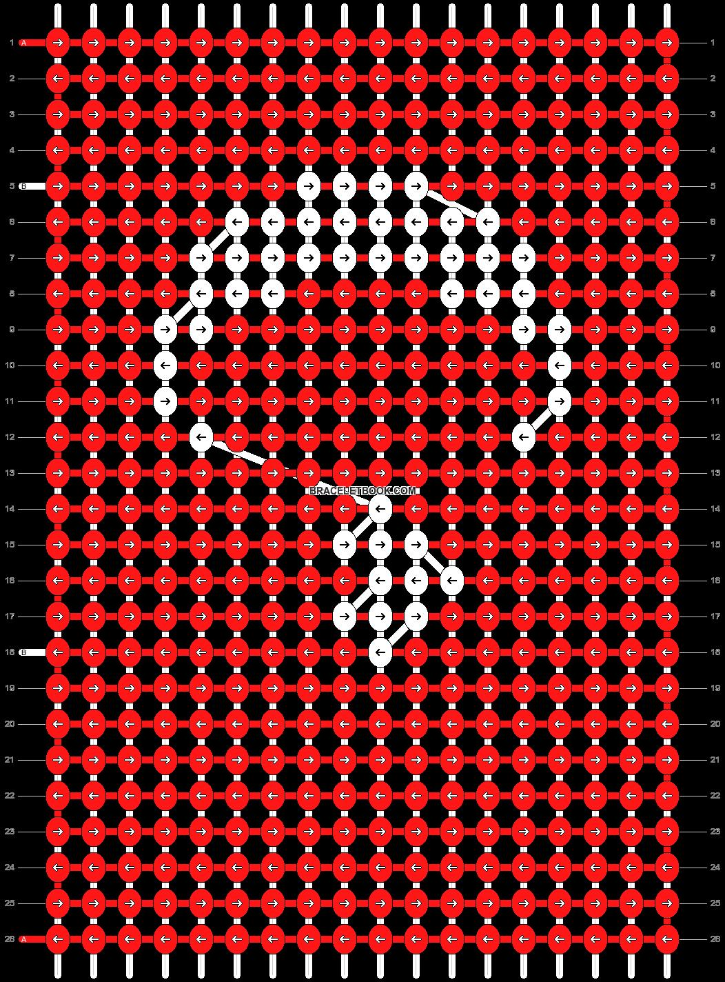 Alpha pattern #41746 pattern