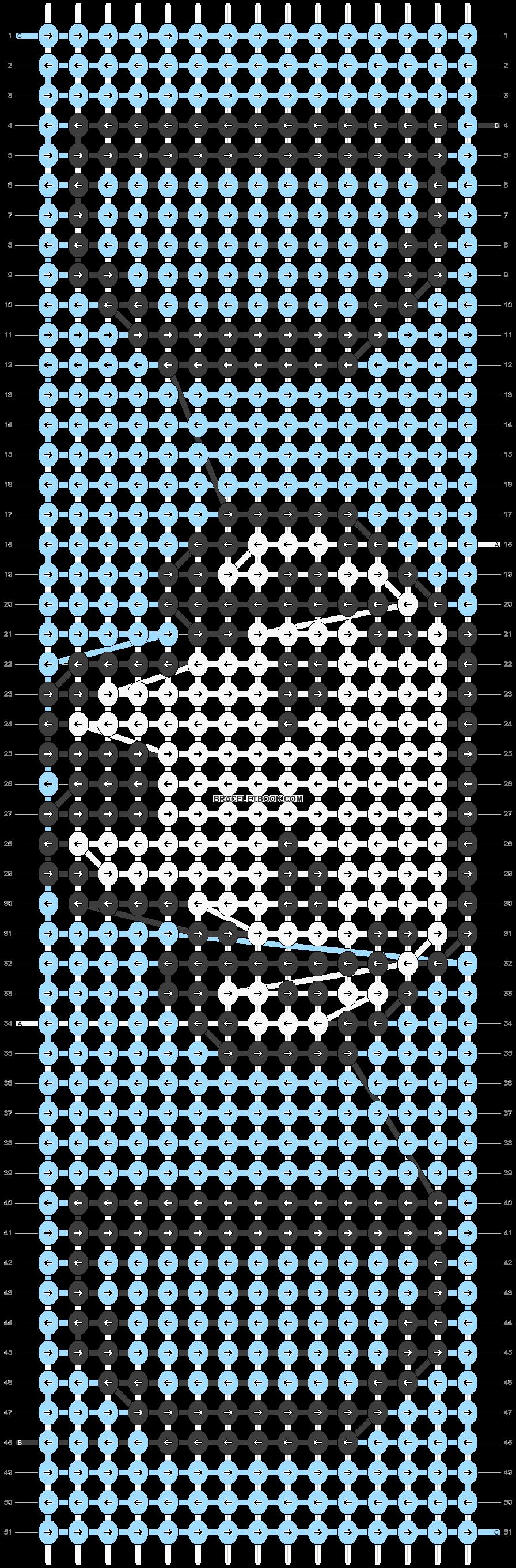 Alpha pattern #41798 pattern