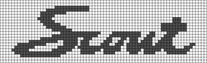 Alpha pattern #41804