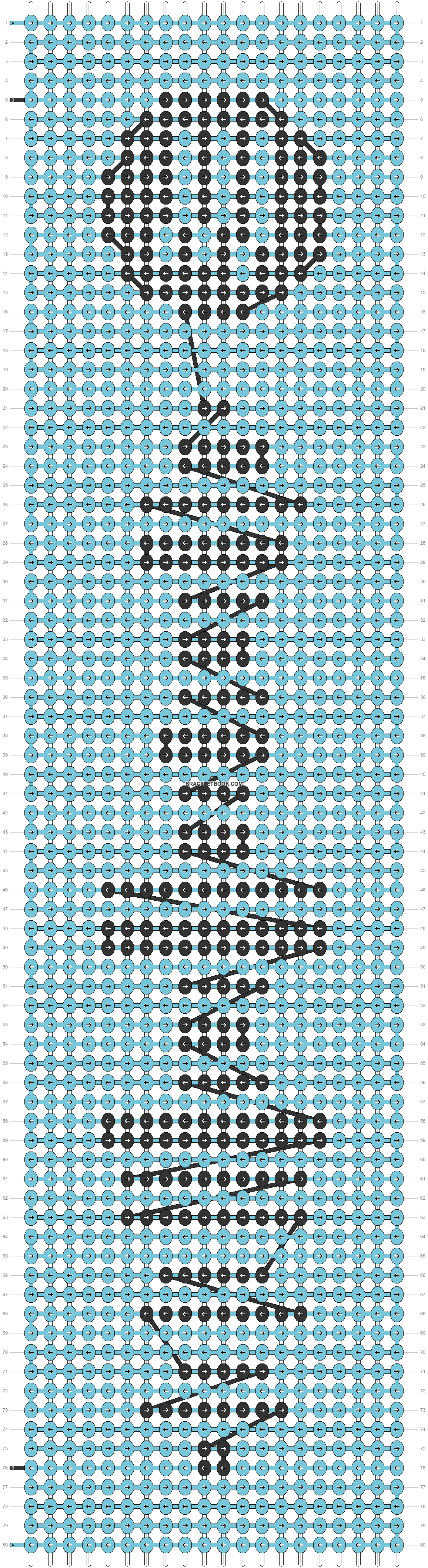 Alpha pattern #41808 pattern