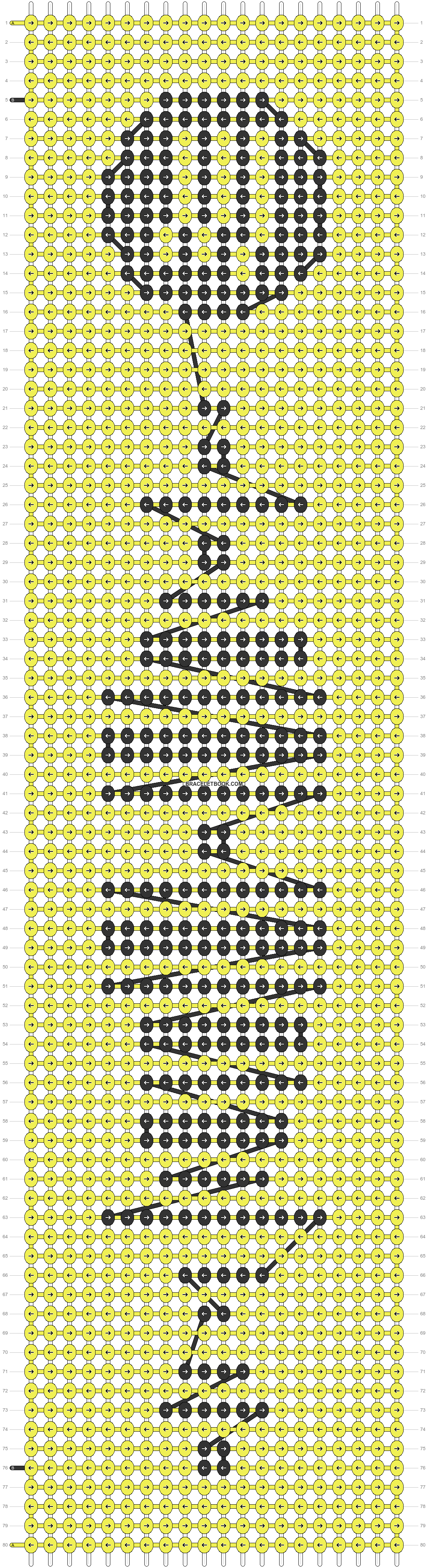 Alpha pattern #41809 pattern