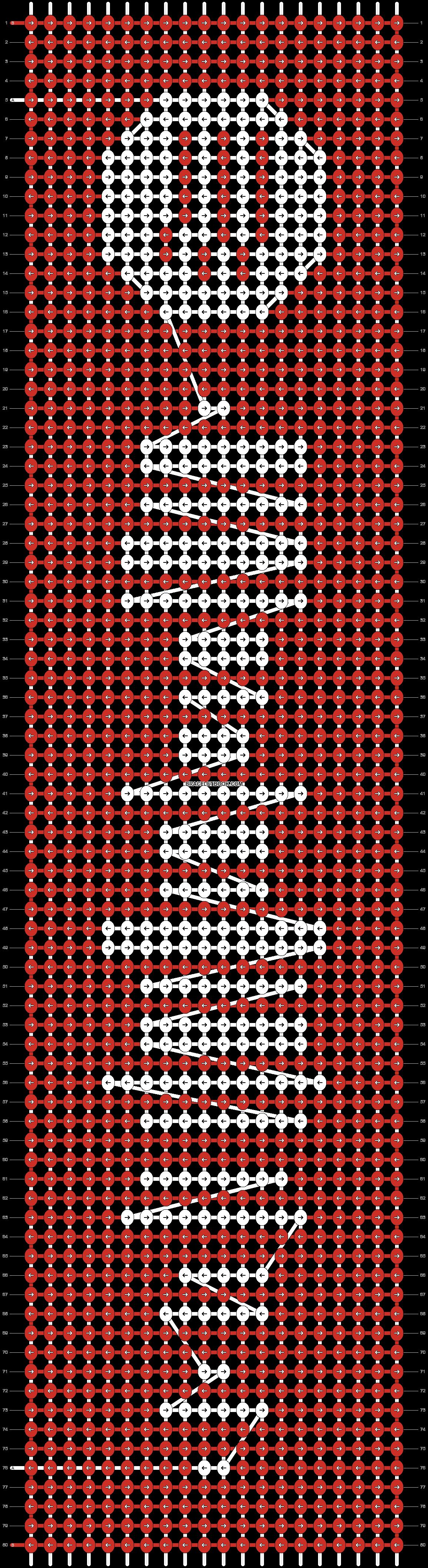 Alpha pattern #41814 pattern
