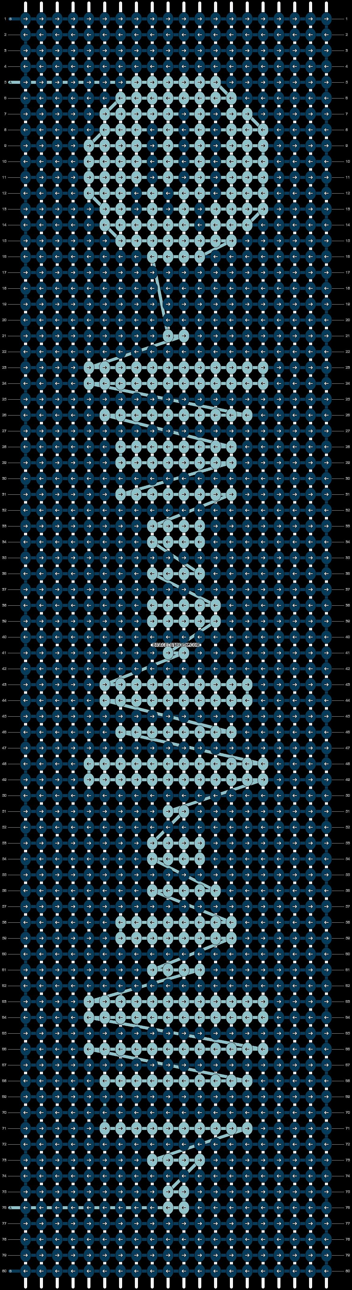 Alpha pattern #41835 pattern