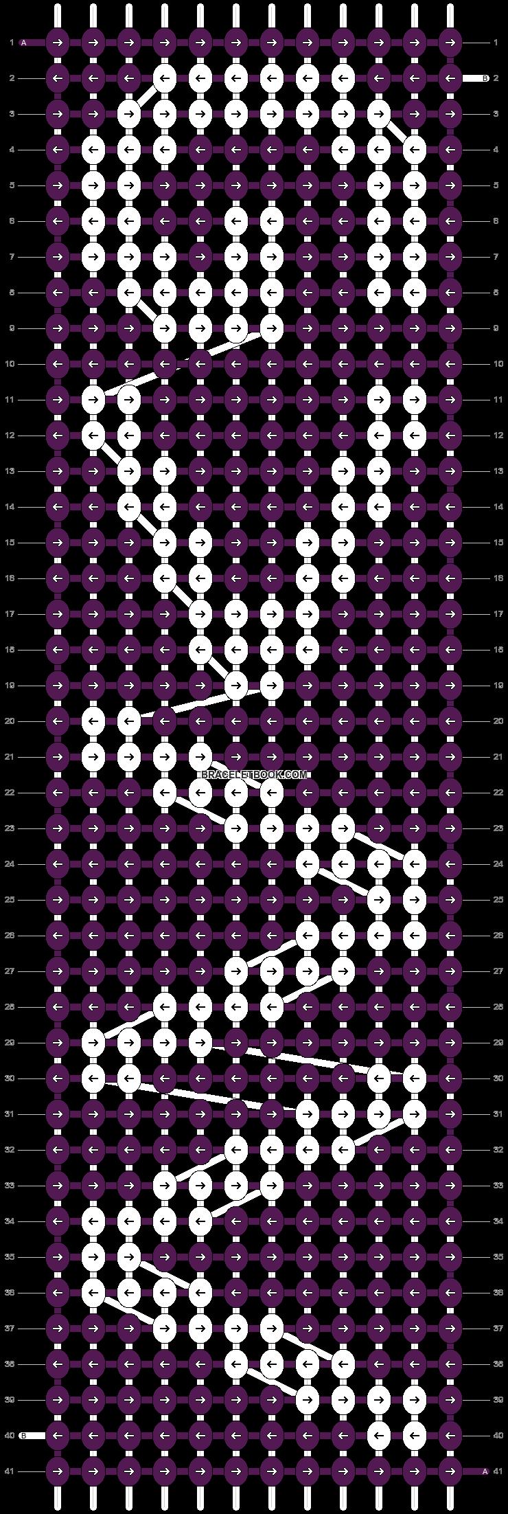 Alpha pattern #41855 pattern