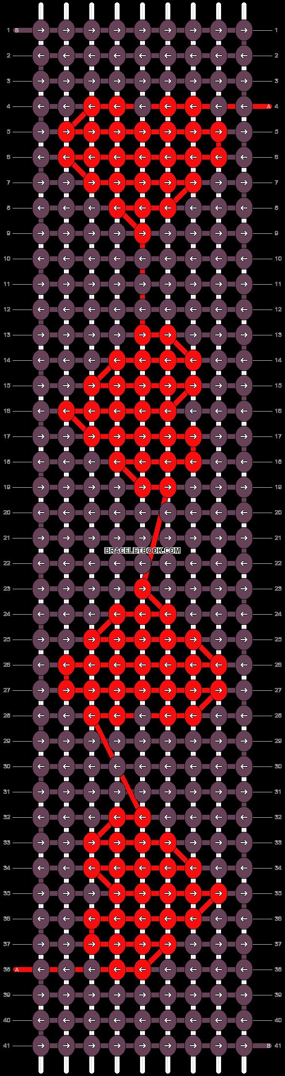 Alpha pattern #41872 pattern