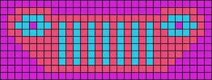 Alpha pattern #41874