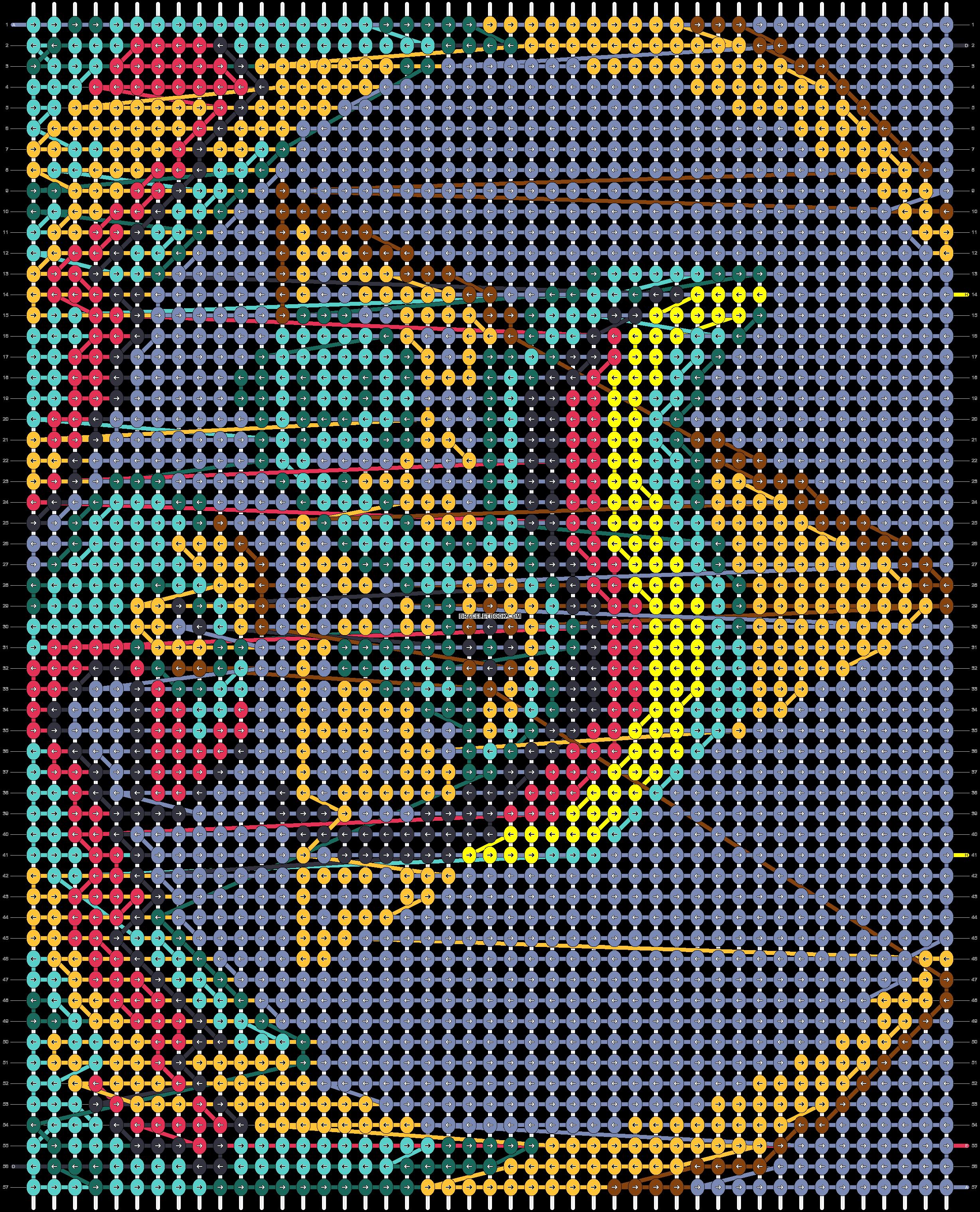 Alpha pattern #41878 pattern