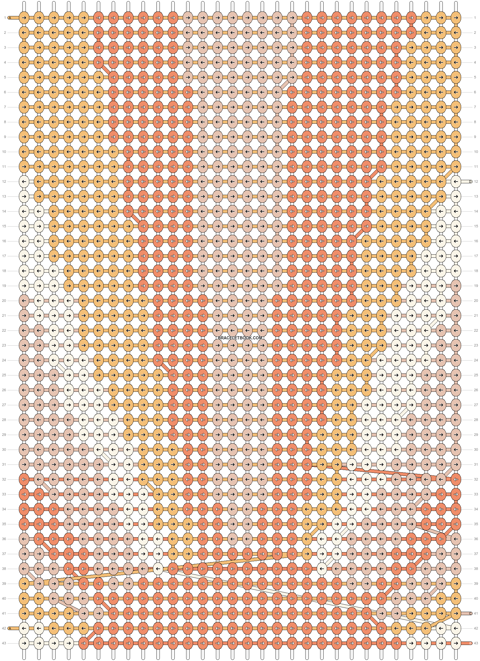 Alpha pattern #41934 pattern