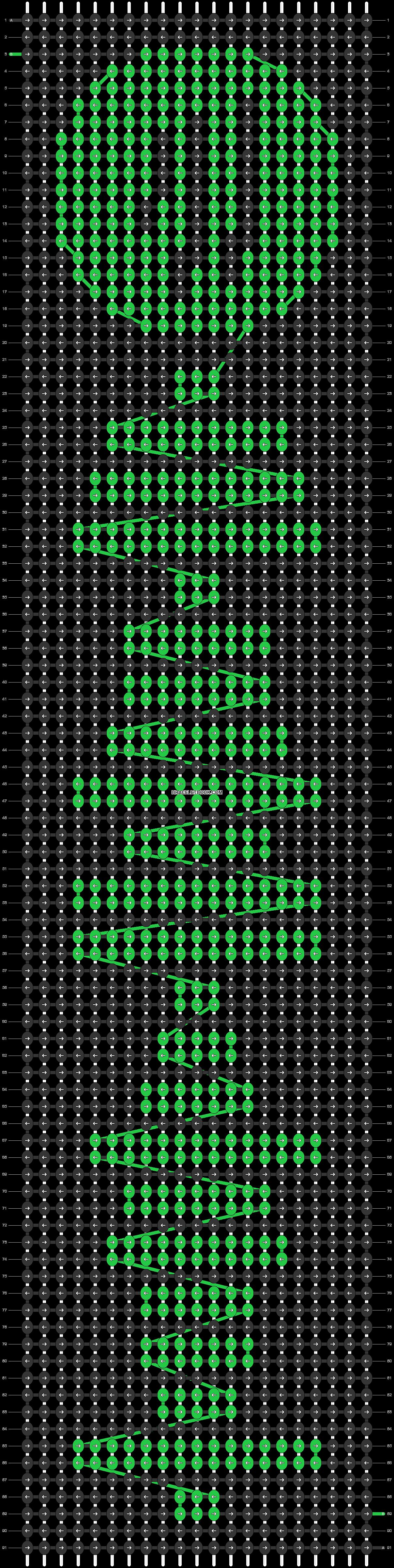 Alpha pattern #41939 pattern
