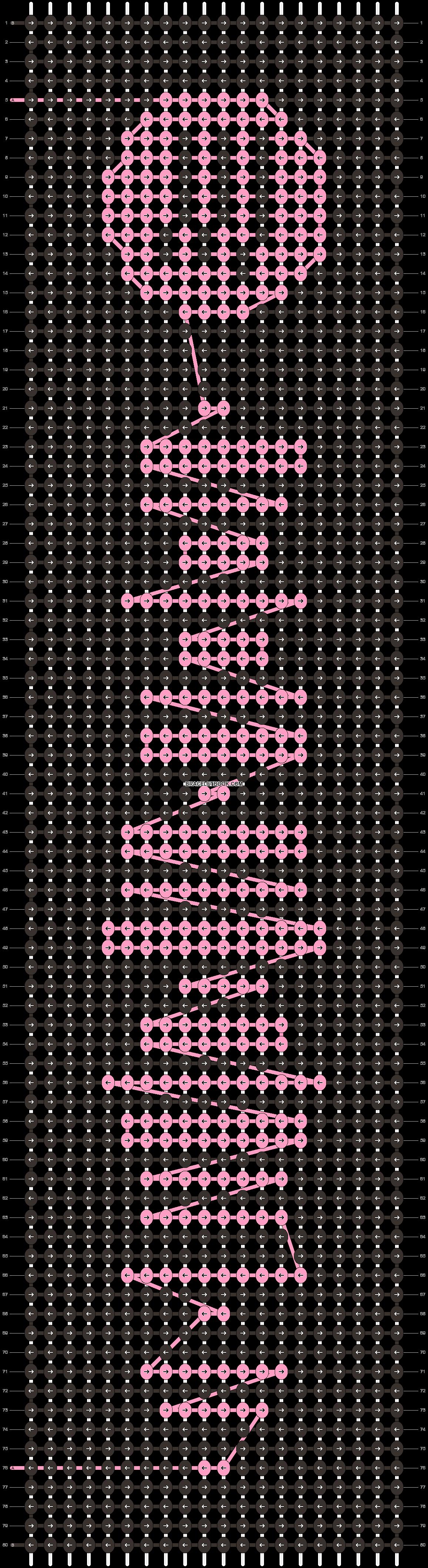 Alpha pattern #41960 pattern