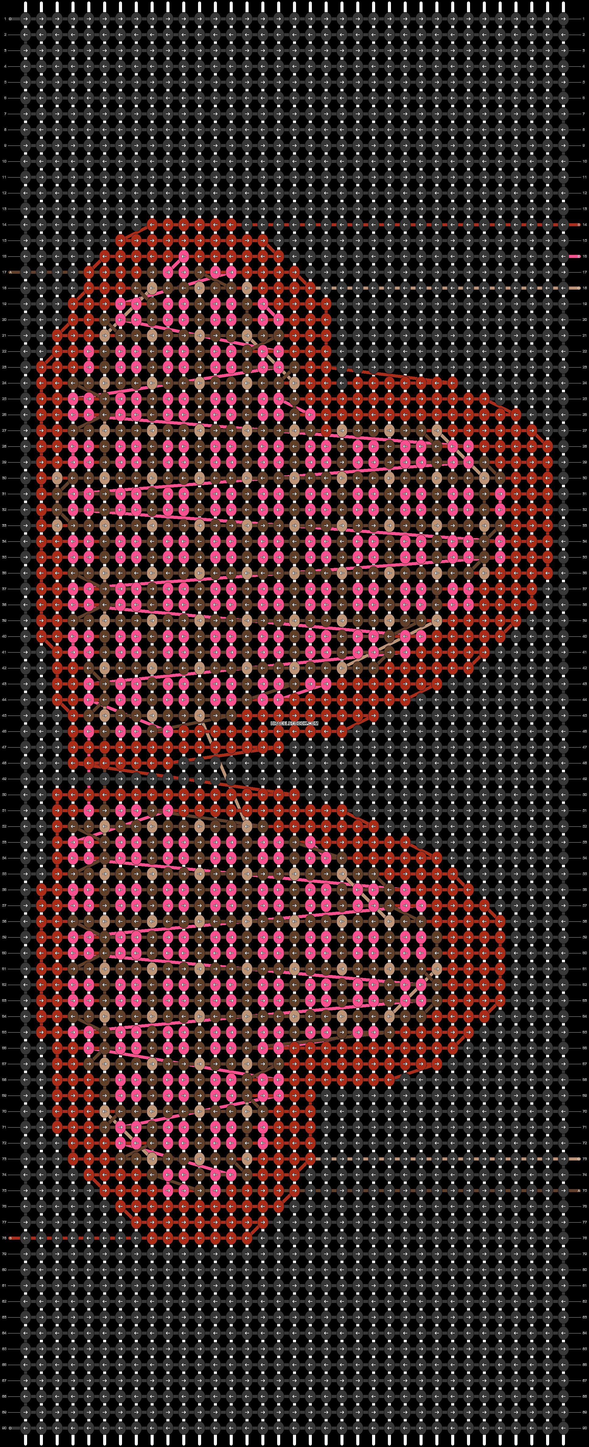Alpha pattern #41988 pattern