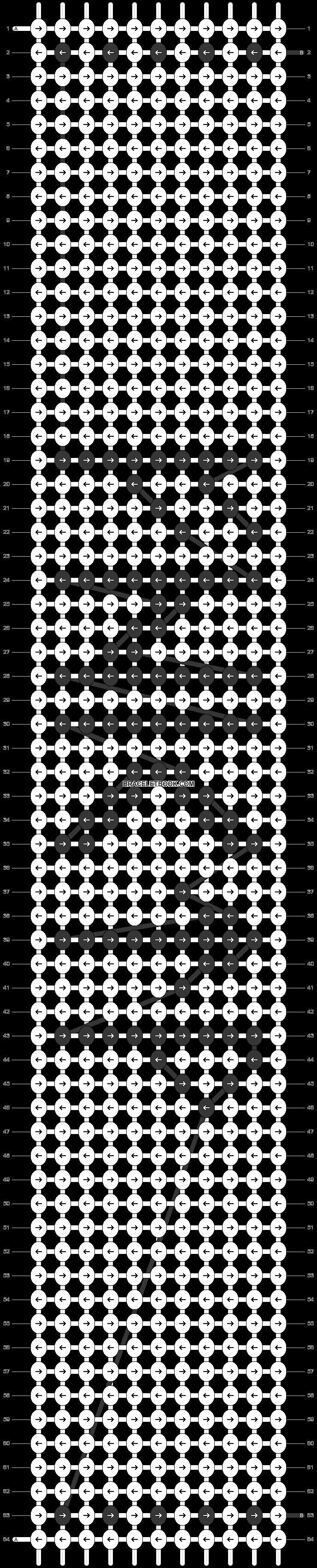 Alpha pattern #42003 pattern