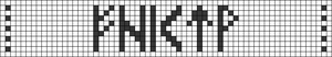Alpha pattern #42003