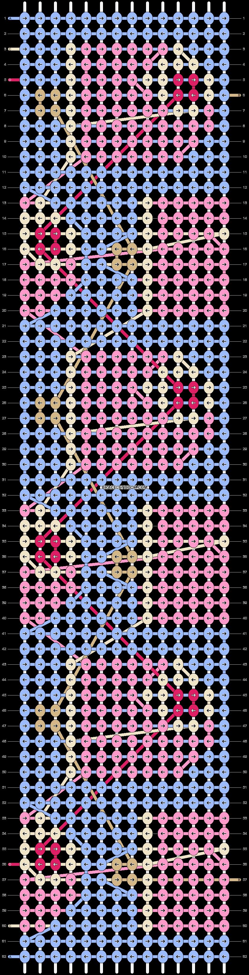 Alpha pattern #42027 pattern