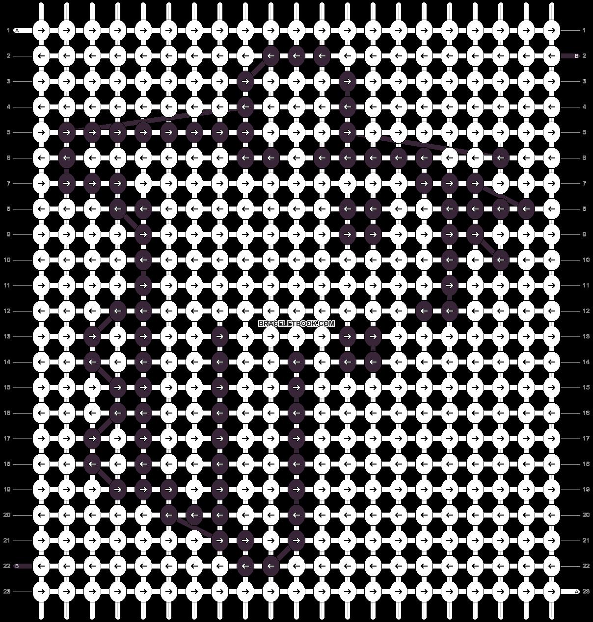 Alpha pattern #42045 pattern
