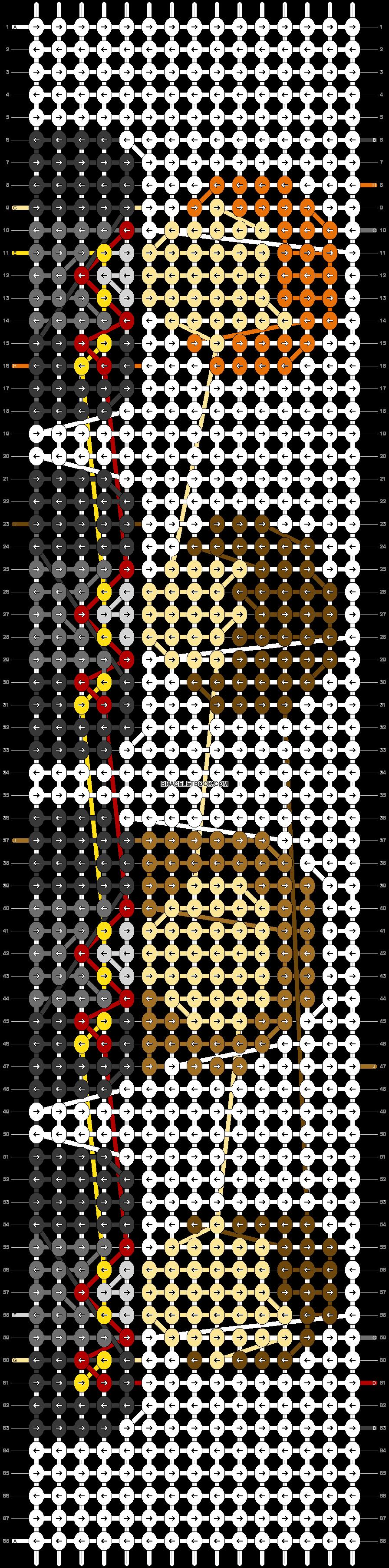 Alpha pattern #42058 pattern