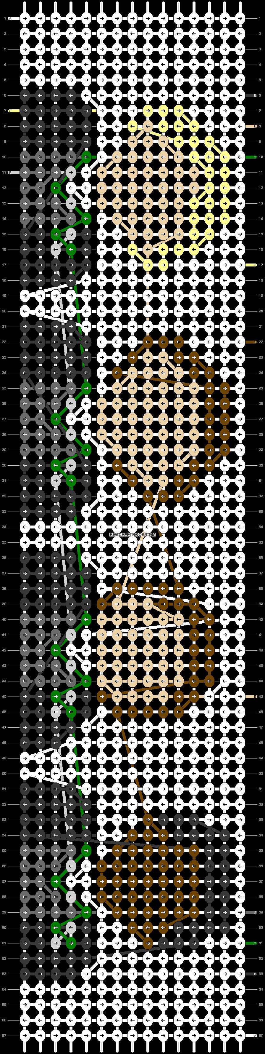 Alpha pattern #42060 pattern