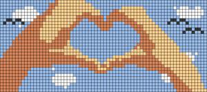 Alpha pattern #42068