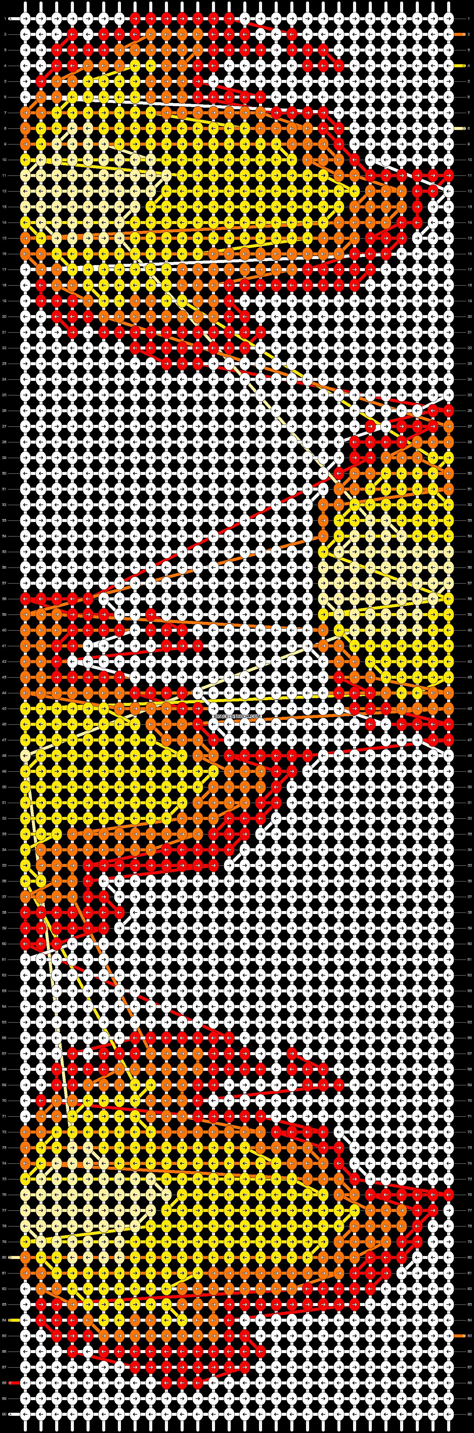 Alpha pattern #42085 pattern