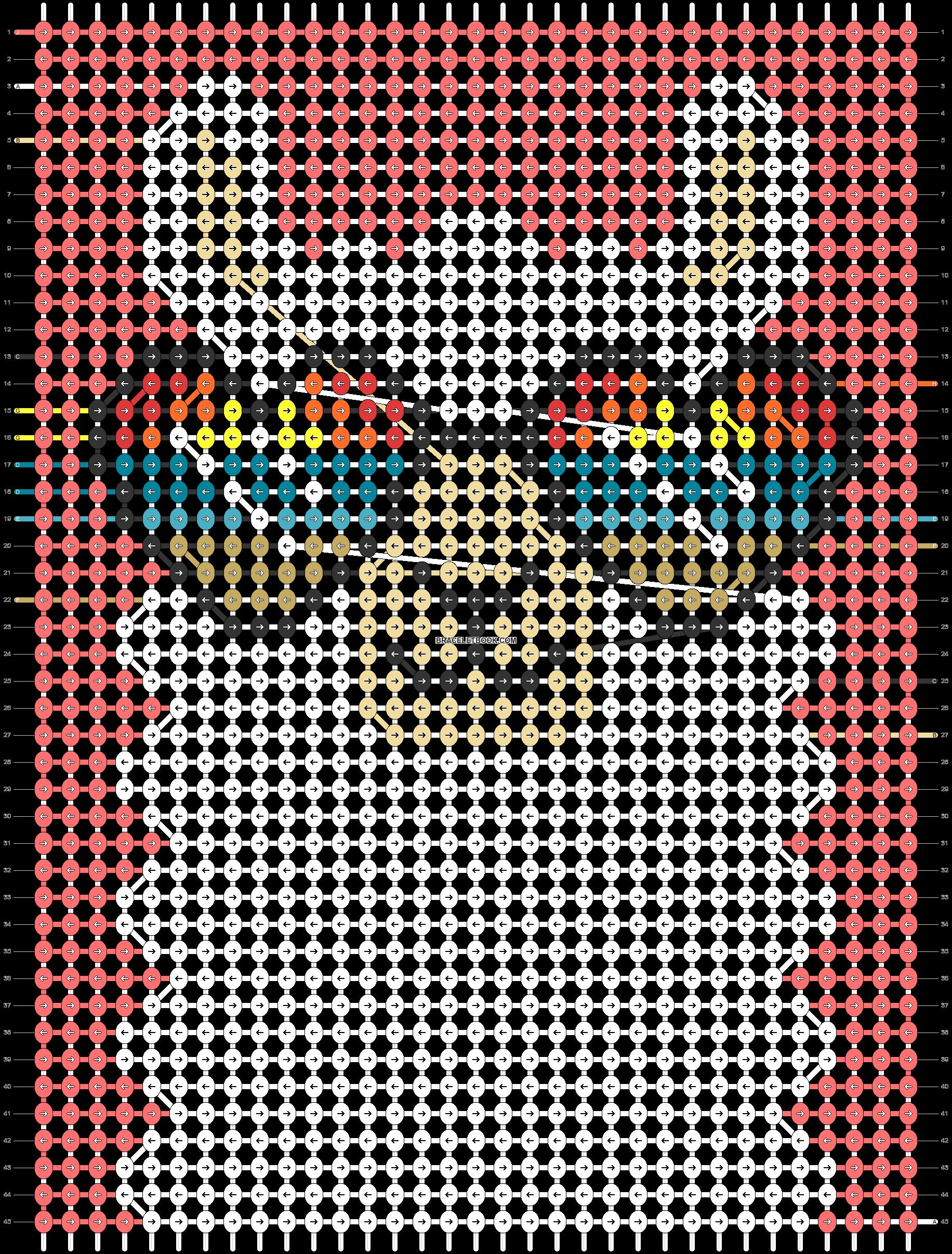 Alpha pattern #42164 pattern