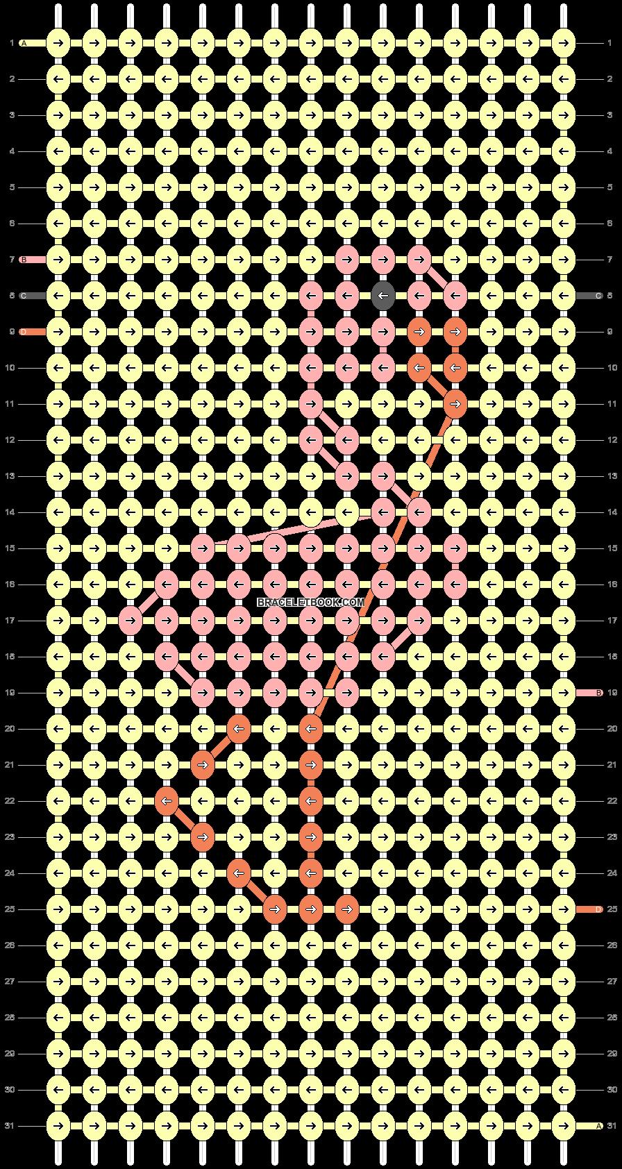 Alpha pattern #42168 pattern