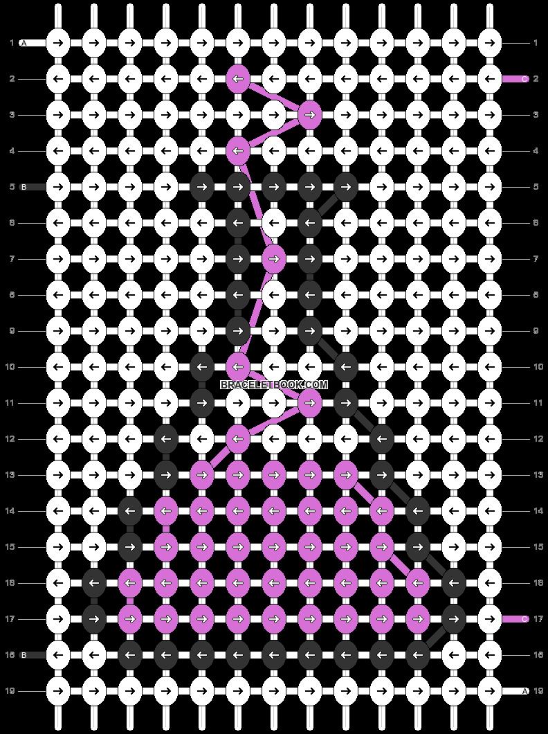 Alpha pattern #42196 pattern