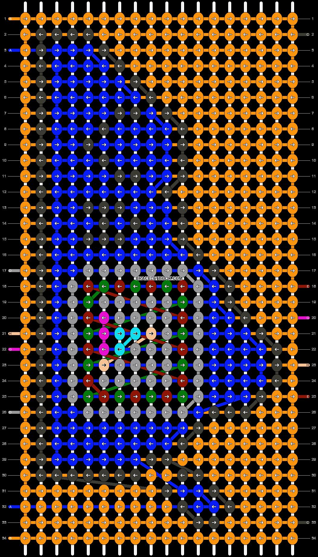Alpha pattern #42212 pattern