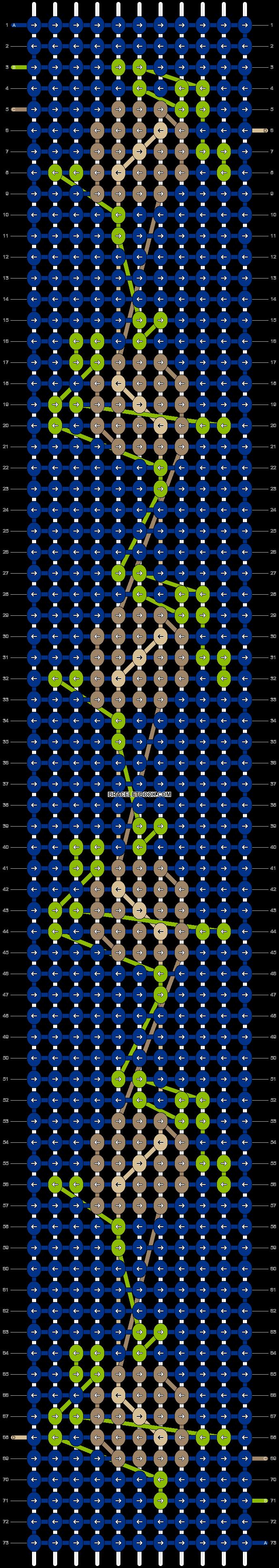 Alpha pattern #42243 pattern