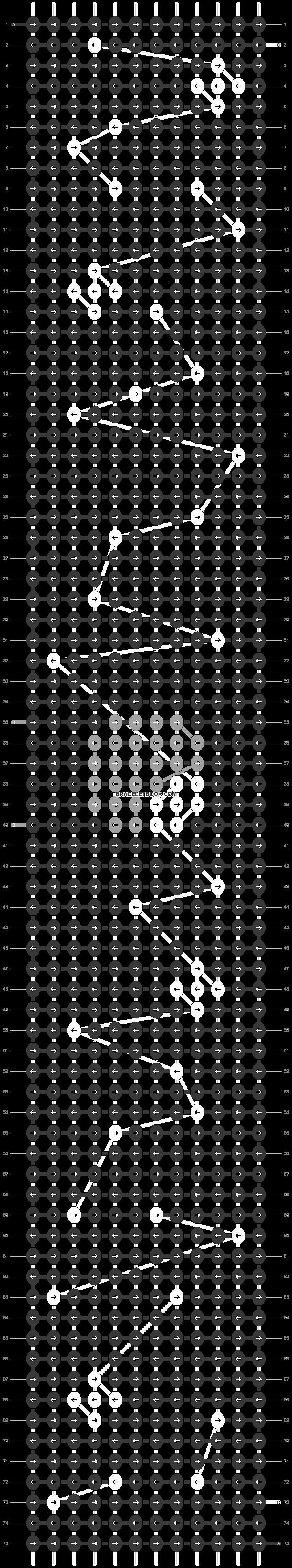 Alpha pattern #42254 pattern