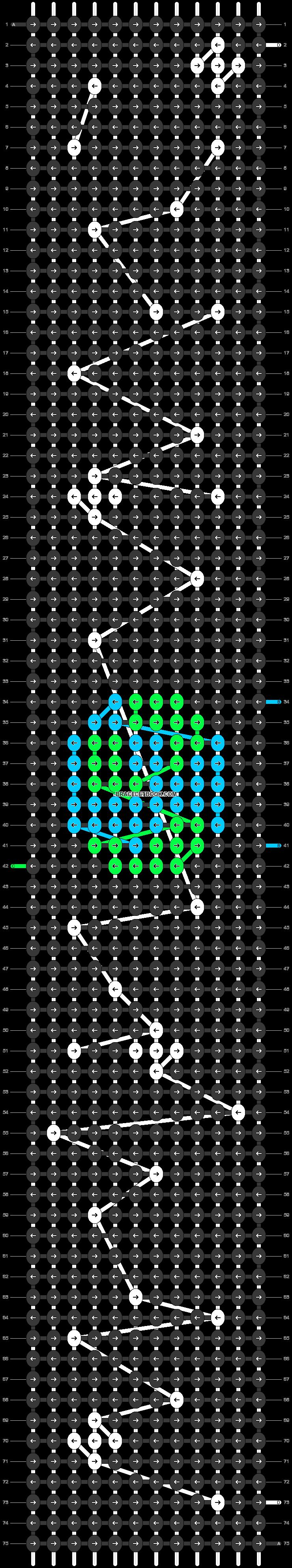 Alpha pattern #42264 pattern