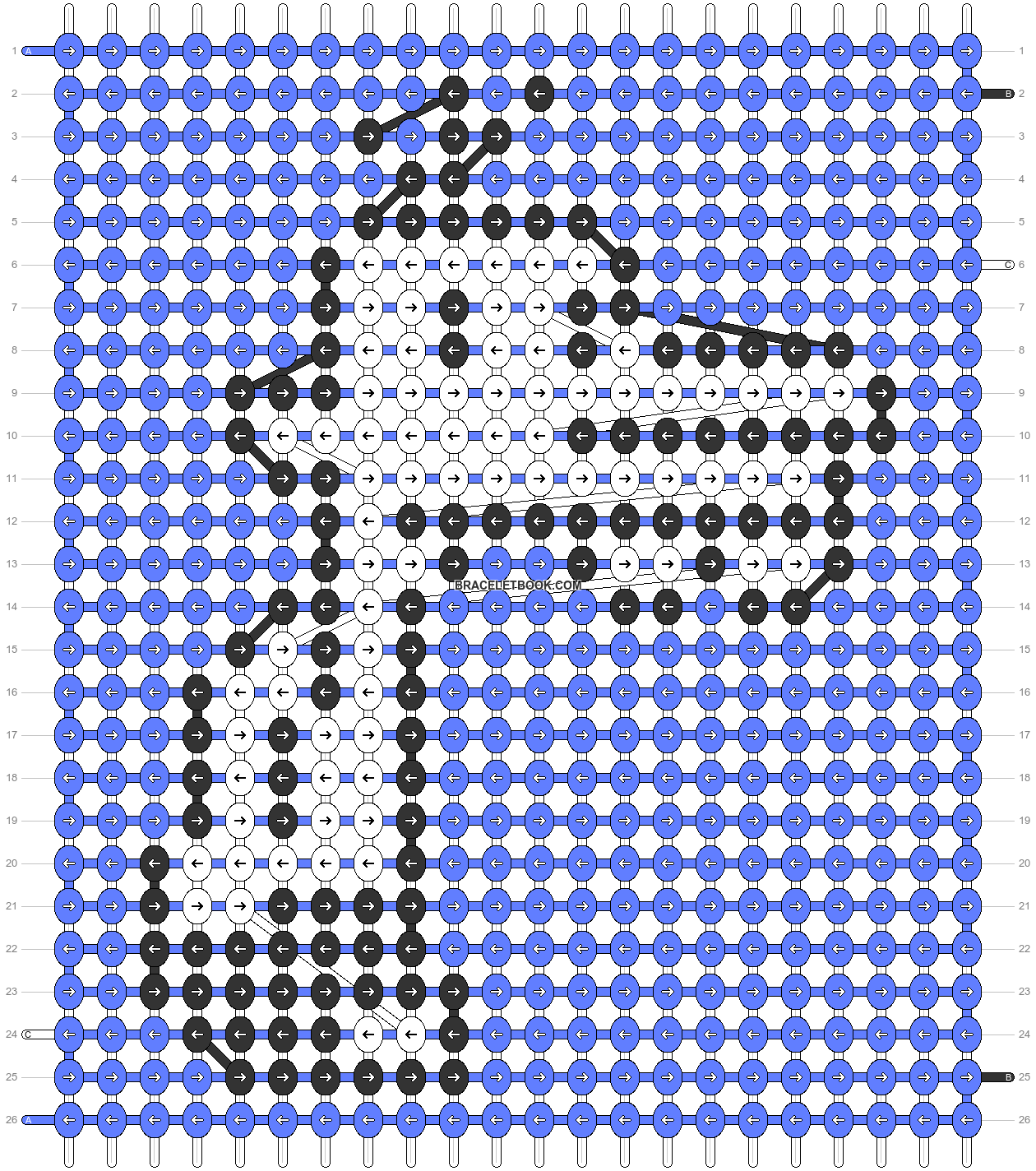 Alpha pattern #42288 pattern