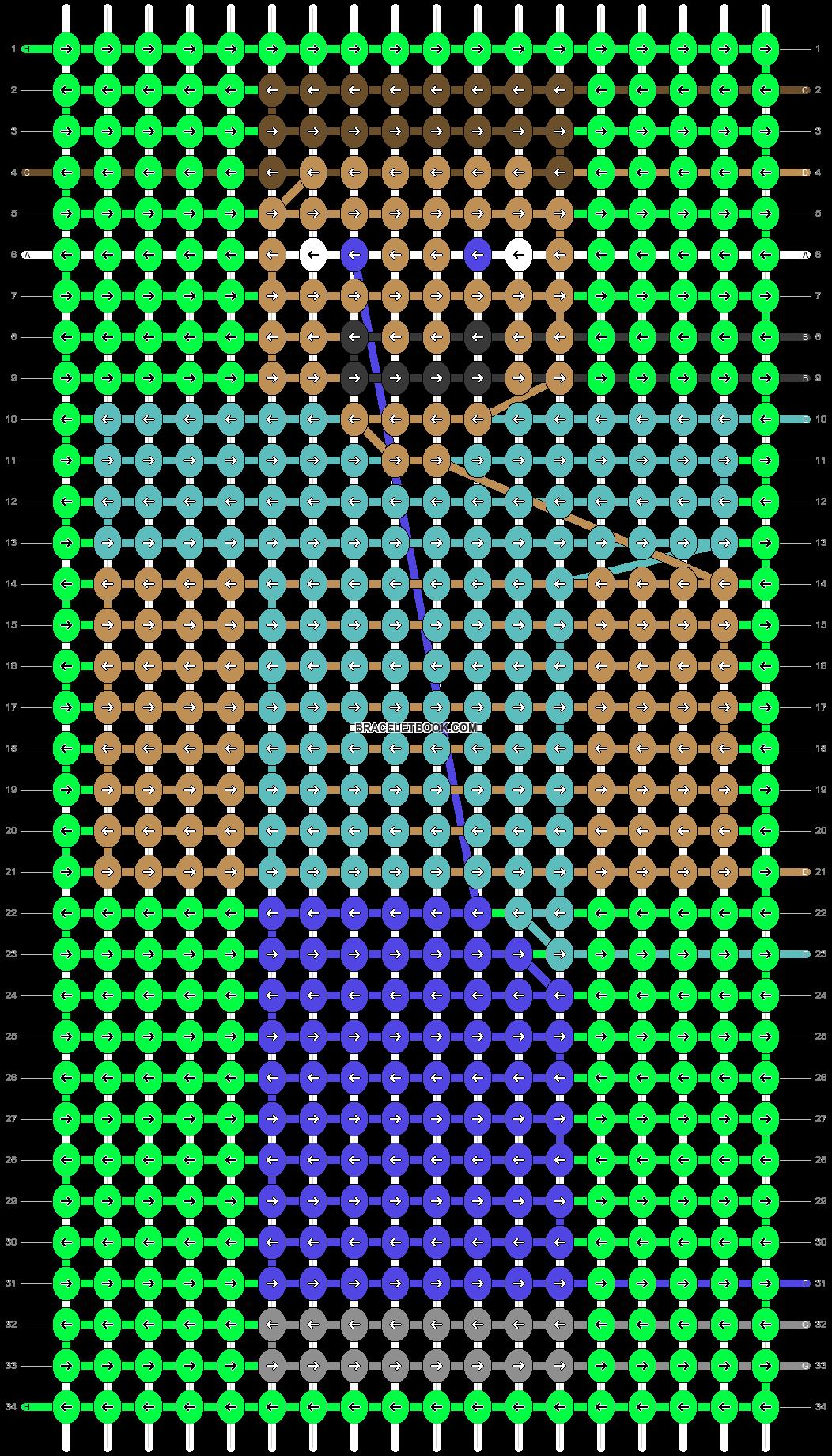 Alpha pattern #42331 pattern