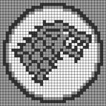 Alpha pattern #42351