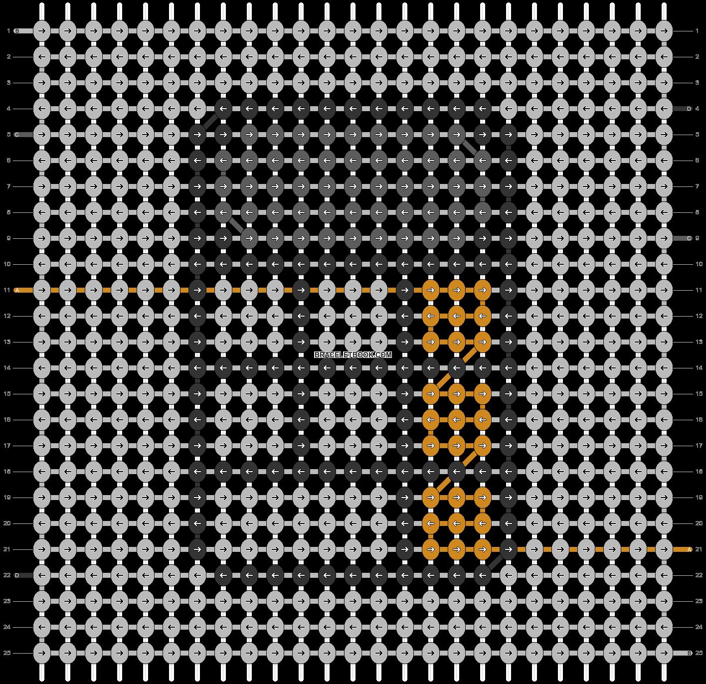 Alpha pattern #42357 pattern