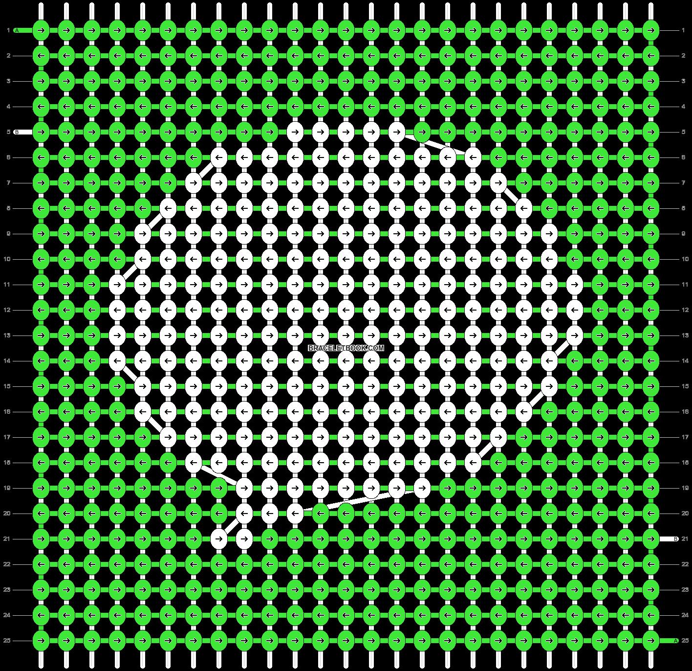 Alpha pattern #42358 pattern