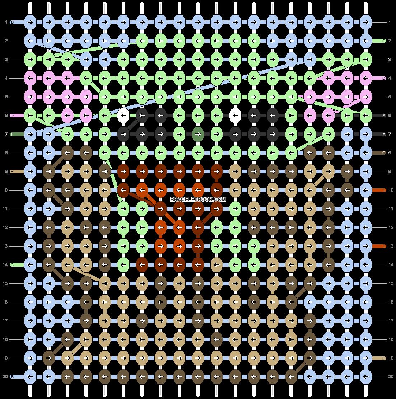 Alpha pattern #42362 pattern