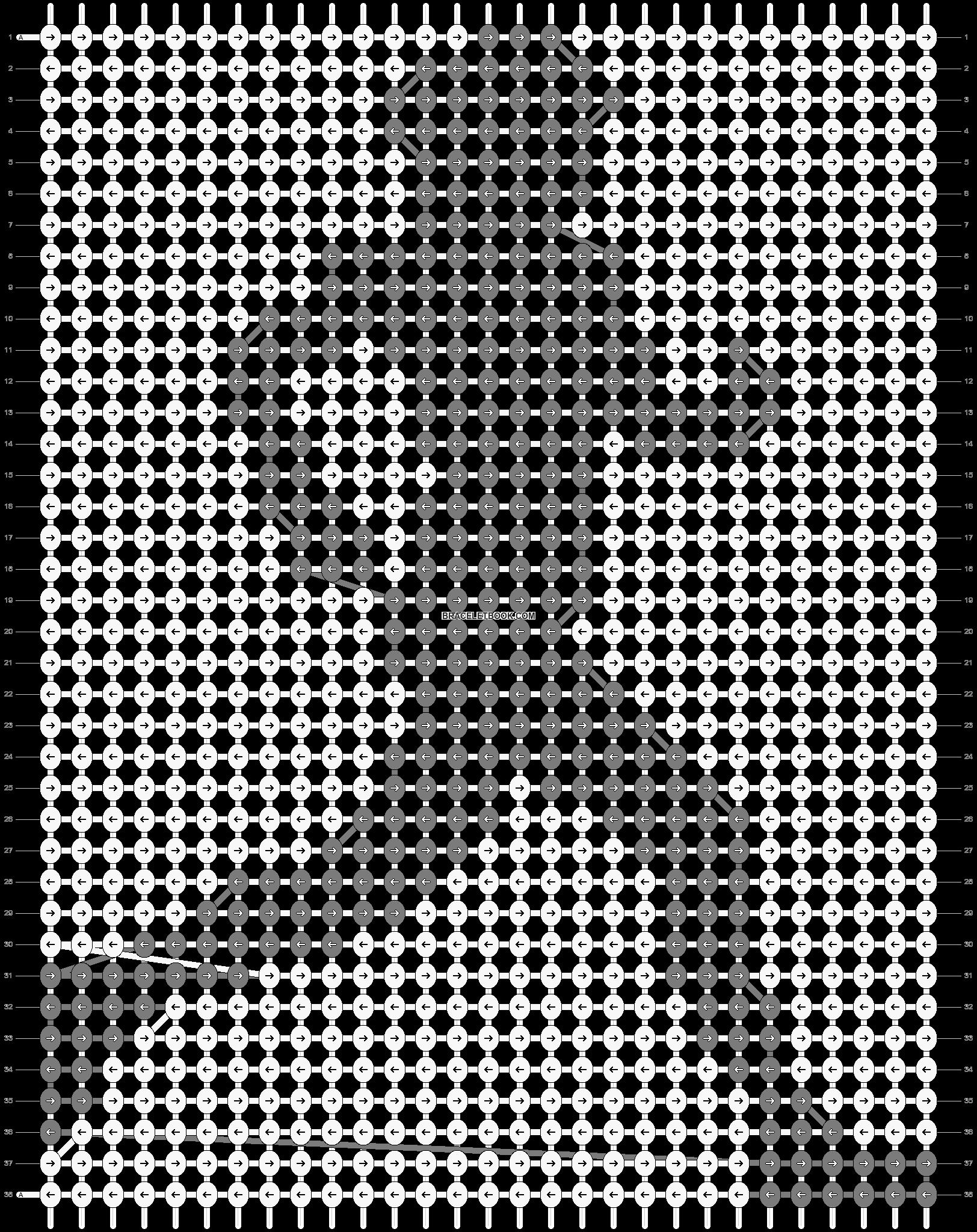 Alpha pattern #42406 pattern