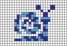 Alpha pattern #42408
