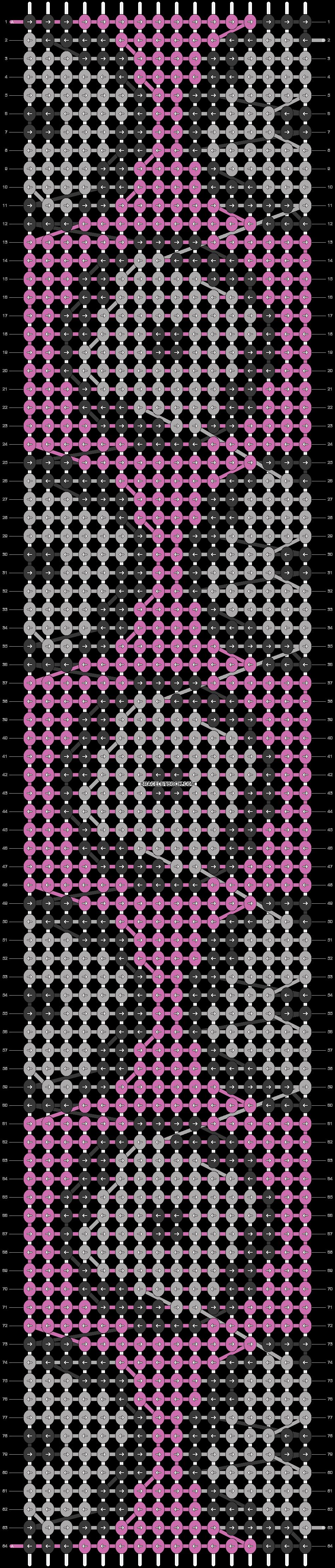 Alpha pattern #42413 pattern