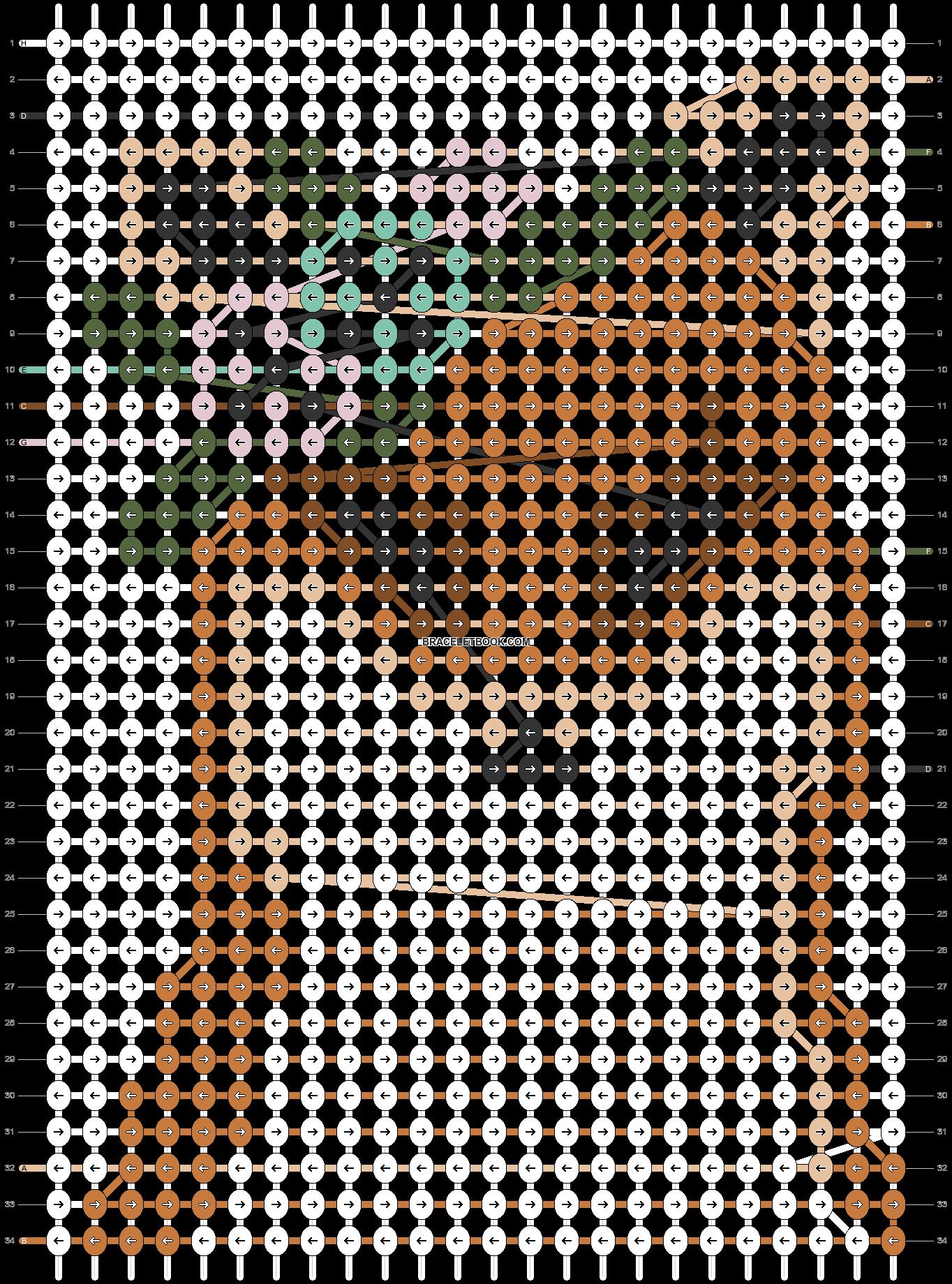 Alpha pattern #42430 pattern