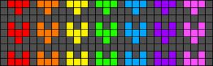 Alpha pattern #42435