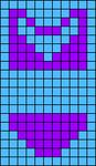 Alpha pattern #42436