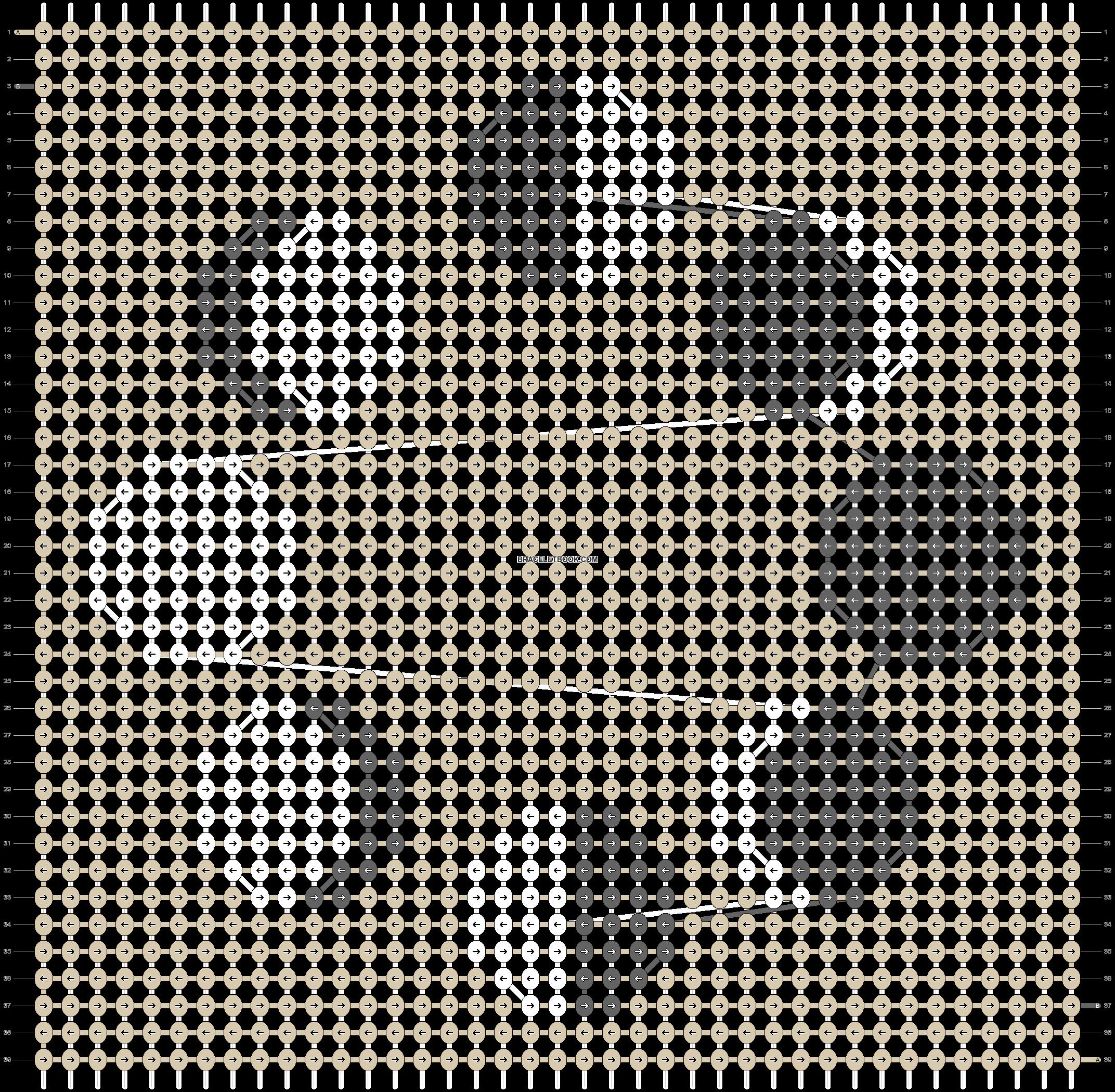 Alpha pattern #42522 pattern
