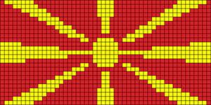 Alpha pattern #42531