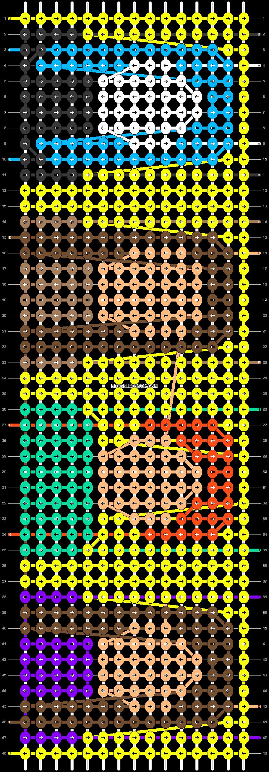 Alpha pattern #42548 pattern
