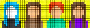 Alpha pattern #42548